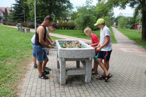 Turnieje: warcabowy, tenisa stołowego i piłkarzyków stołowych – 25.07