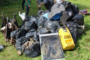 """Akcja sprzątania rzeki """"Czysta Rospuda"""" – 01.09.2018"""