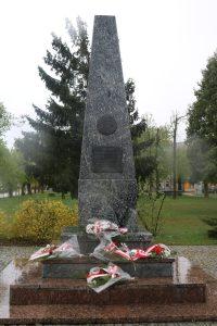 Świeto Konstytucji 3 maja – apel przed pomnikiem – 03.05.2019